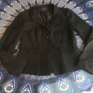 Nine West stretch black blazer size 4